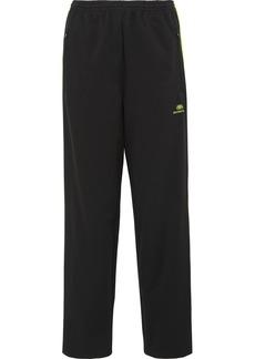 Balenciaga Striped Stretch-jersey Track Pants