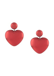 Balenciaga Susi heart earrings