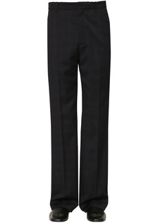 Balenciaga Tailored Prince Of Wales Wool Pants