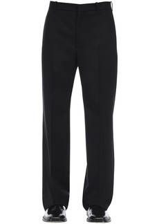 Balenciaga Tailored Virgin Wool Gabardine Pants