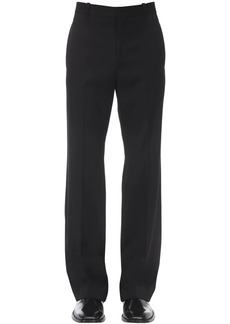 Balenciaga Tailored Wool Blend Pants