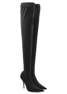 Balenciaga Thigh-High Stiletto Boots