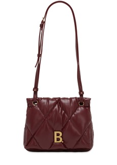 Balenciaga Touch Quilted Leather Shoulder Bag