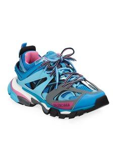 Balenciaga Track Colorblock Mixed Sneakers  Bleu Roi