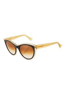 Balenciaga Translucent Cat-Eye Sunglasses