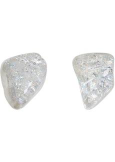 Balenciaga Transparent Rock Earrings