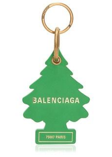 Balenciaga Tree Leather Key Holder