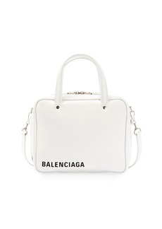 Balenciaga Triangle Square XS Leather Crossbody Bag
