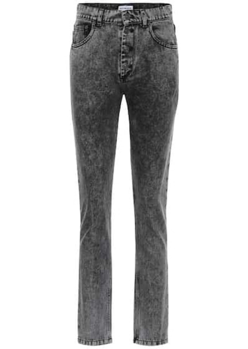 Balenciaga Tube high-rise straight jeans