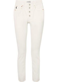 Balenciaga Tube High-rise Straight-leg Jeans