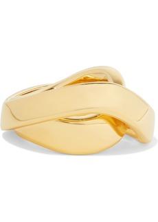 Balenciaga Twirl Gold-tone Ring