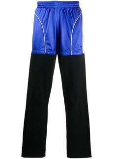 Balenciaga two-tone patched joggings