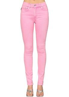 Balenciaga V Waist Stretch Denim Skinny Jeans