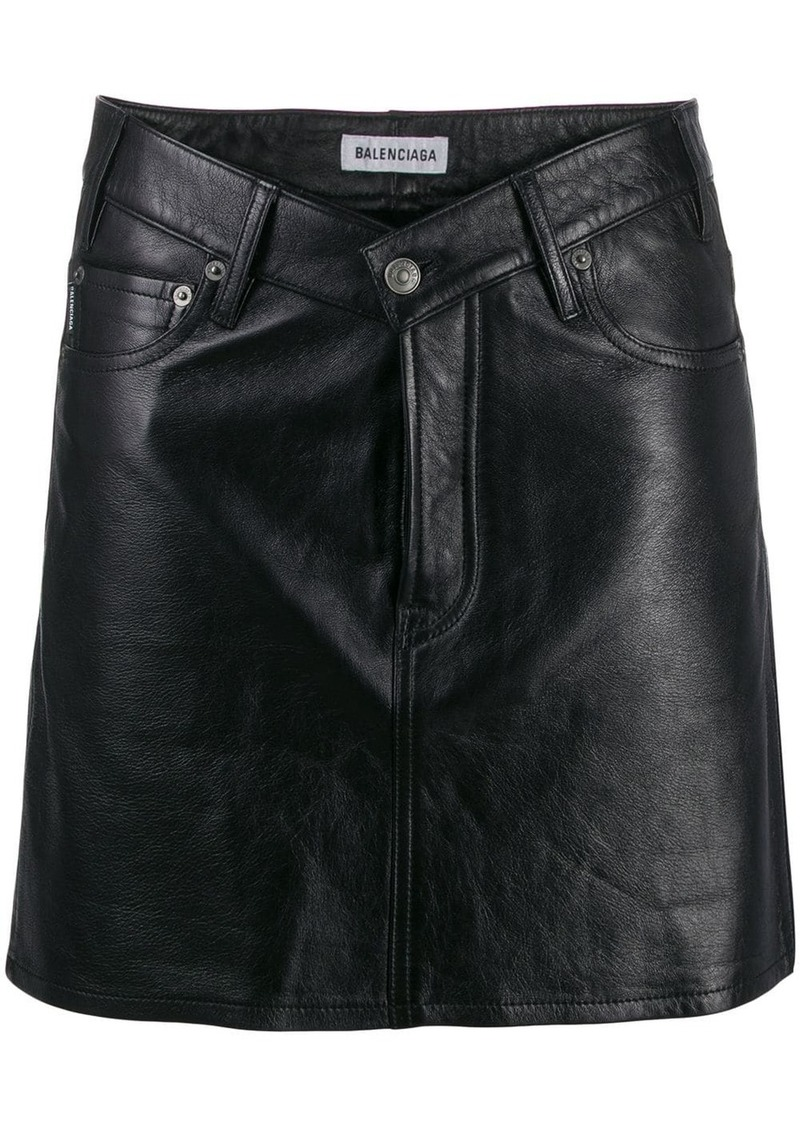 Balenciaga V-Neck skirt