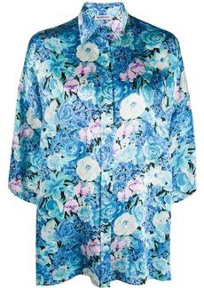 Balenciaga Vareuse floral-print shirt