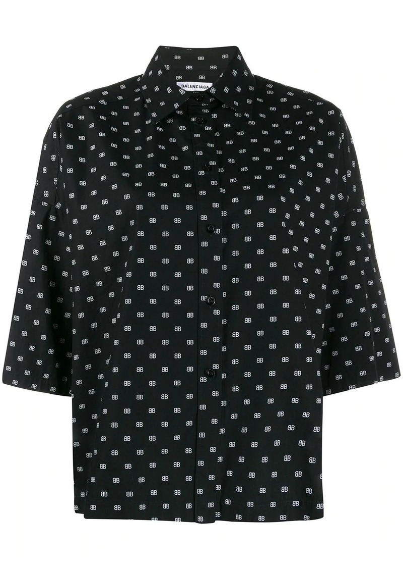 Balenciaga Vareuse printed shirt