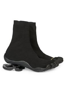 Vibram x Balenciaga High-Top Toe Sneakers