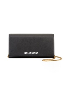 Balenciaga Ville Continental Wallet On Chain