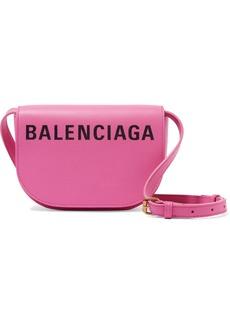 Balenciaga Ville Day Xs Aj Printed Textured-leather Shoulder Bag