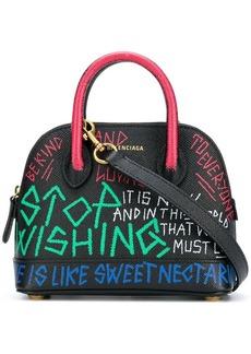 Balenciaga Ville graffiti XXS bag