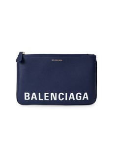 Balenciaga Ville Leather Pouch