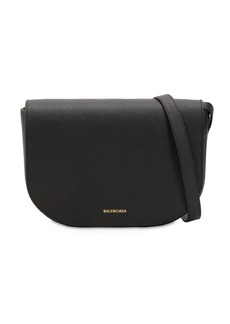 Balenciaga Ville Leather Shoulder Bag
