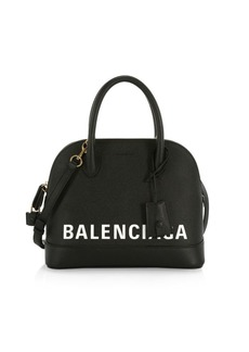Balenciaga Ville Top Handle Leather Bag