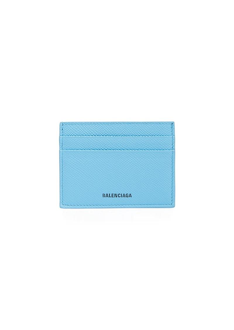 Balenciaga Ville Multicard Logo Card Case