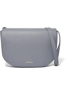 Balenciaga Ville S Aj Printed Textured-leather Shoulder Bag