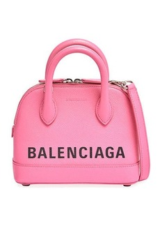 Balenciaga Ville Small AJ Calfskin Top-Handle Bag