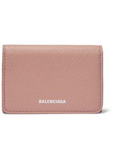 Balenciaga Ville Textured-leather Wallet