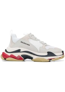 Balenciaga W Triple S tricolour sole sneakers