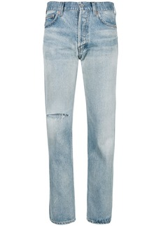 Balenciaga washed out jeans