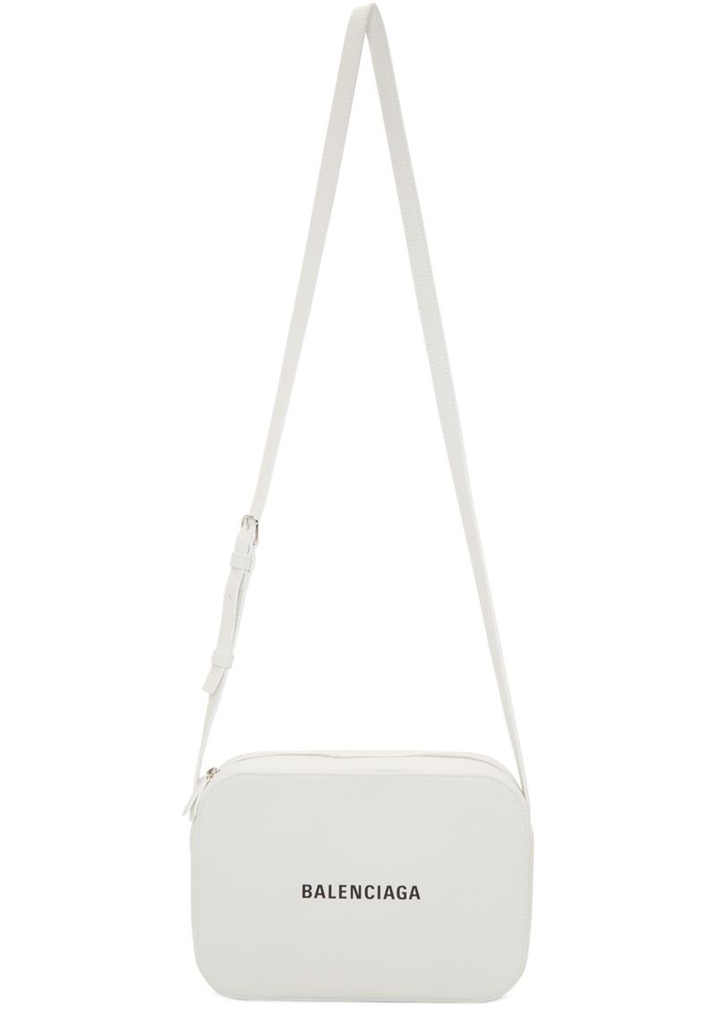 Balenciaga White Everyday Camera Bag