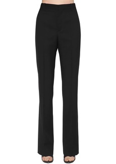 Balenciaga Wide Wool Garbadine Pants