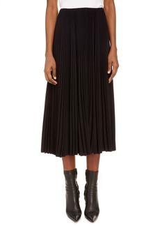Women's Balenciaga Pleated Midi Skirt