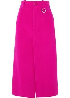 Balenciaga Wool-blend Midi Skirt