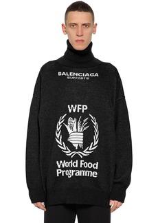 Balenciaga World Food Program Wool Sweater