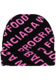 Balenciaga World Food Programme beanie