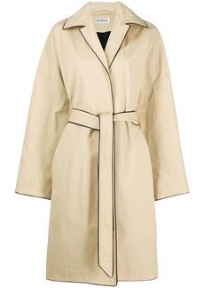 Balenciaga wrap cocoon coat