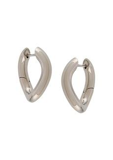 Balenciaga XS loop earrings