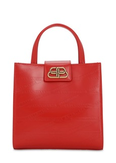 Balenciaga Xs Sharp Embossed Monogram Leather Tote