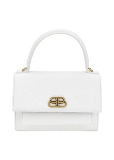 Balenciaga Xs Sharp Lizard Embossed Leather Bag