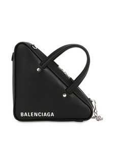 Balenciaga Xs Triangle Leather Shoulder Bag