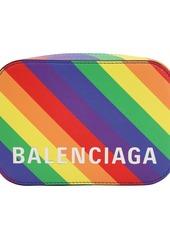 Balenciaga Xs Ville Printed Leather Camera Bag