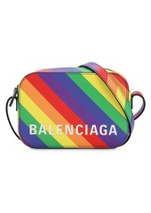 Balenciaga Xs Ville Printed Leather Camera Bag