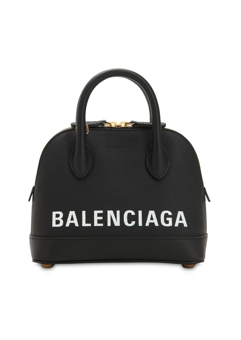 Balenciaga Xxs Ville Leather Bag