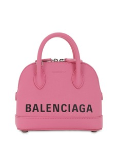 Balenciaga Xxs Ville Leather Top Handle Bag