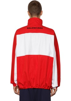 Balenciaga Zip-up Cotton Poplin Jacket