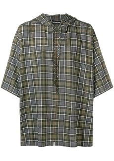 Balenciaga zipped hood shirt